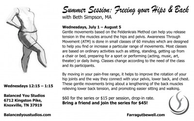 Summer Session: Freeing Your Hips & Back